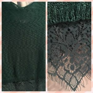 Sweater Lacey & lightweight